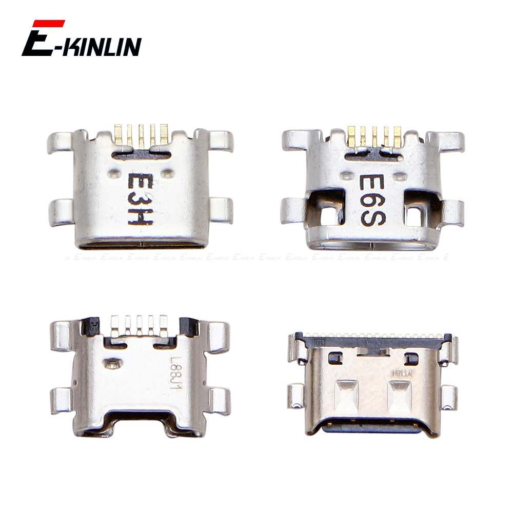 Type-C Micro USB Jack Connector Socket For HuaWei Honor Play 7C 7A 7X 7S 6C 6A 6X 5C Pro Charge Charging Dock Plug Port