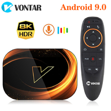 VONTAR X3 4GB 128GB 8K Amlogic S905X3 Smart TV BOX Android 9