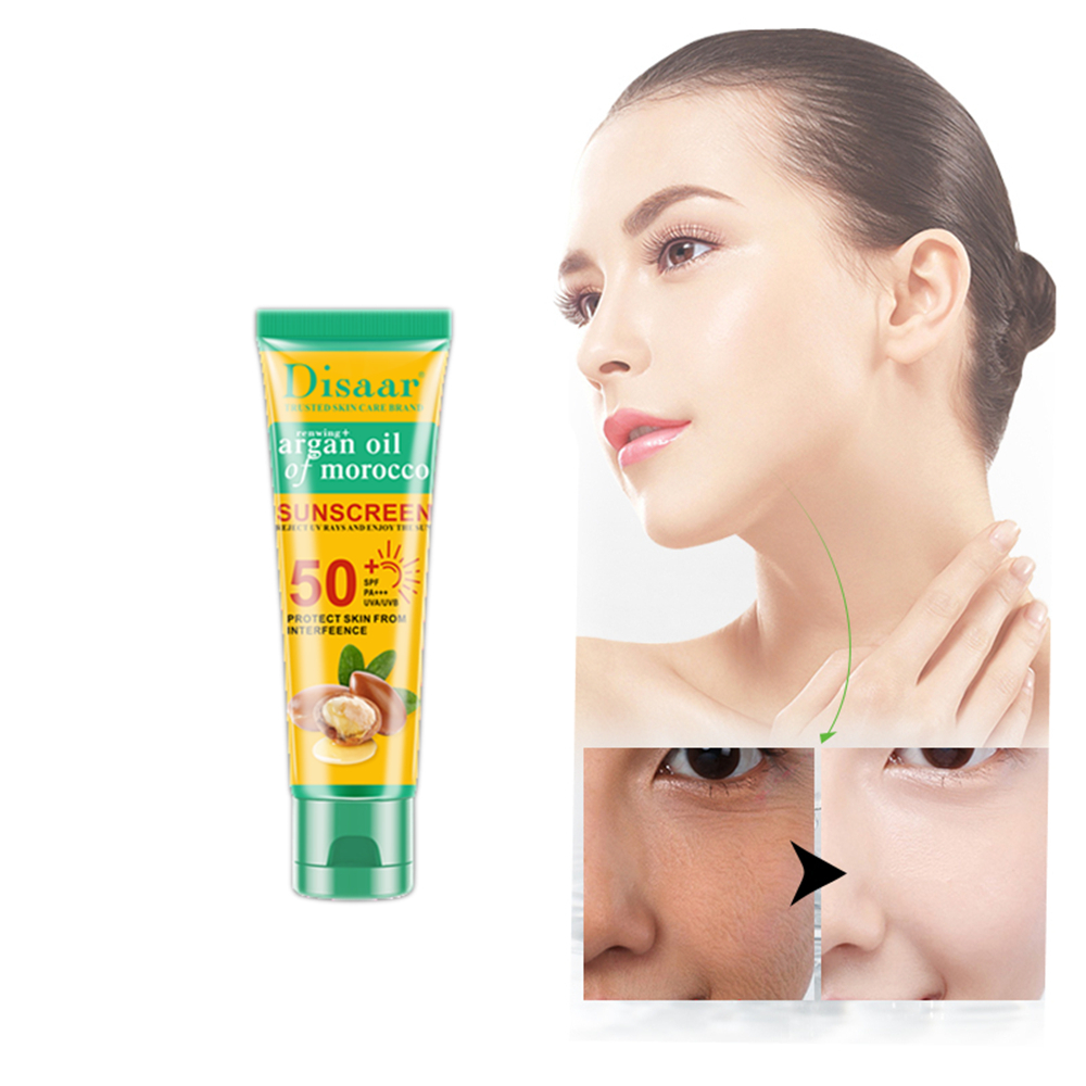 Increase Skin Water Sunscreen Moisturizing Cream Refreshing Light Waterproof UV Protection Skin Cream Not Greasy Sun Screen
