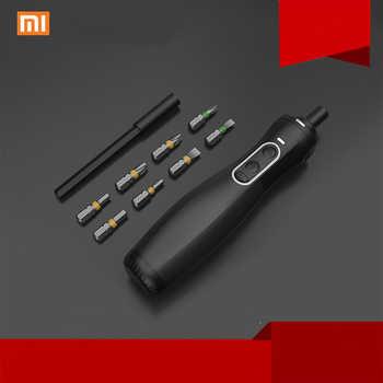 Original Xiaomi Mijia zu Hause Erhalten Elektrische Schraubendreher Power Werkzeuge Schraubendreher Wiederaufladbare Cordless Manuelle Steuerung Für Smart Home