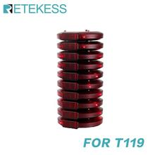 10 Pcs Pager Receivers For Retekess T119 Restaurant Pager Wireless Calling System For Restaurant Coffee Shop Church Clinic
