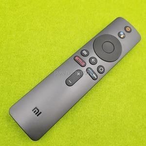 Image 2 - Controle remoto de voz original XMRM 00A para xiaomi mi tv 4x 50 L65M5 5SIN 4k 43 polegadas led tv com google assistente