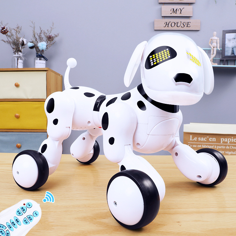 CHILDREN'S Toy Boy Model Smart Electric Remote Control Robot Dog Puppy Will Walk Talk 4-Year-Old Singing Dancing