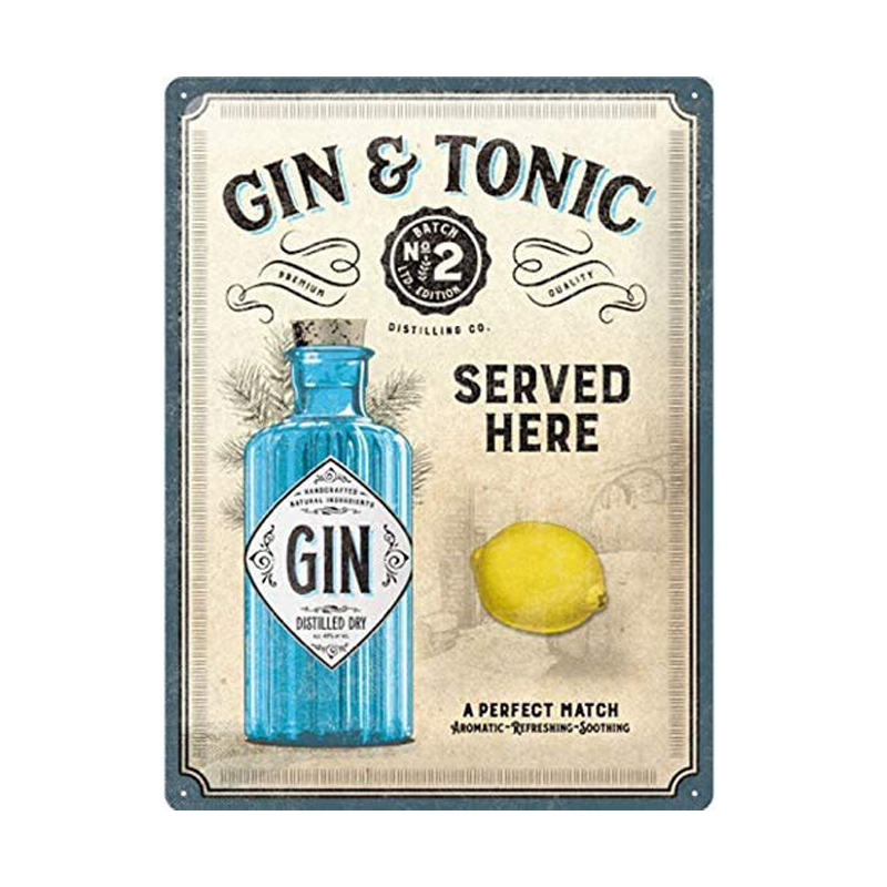 Gin Tonic Basic US-Tight Fit-Rouge