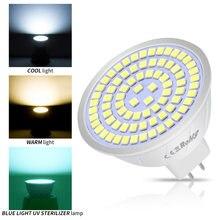 Bombilla LED GU10 de 220V, Bombilla germicida UV, esterilizador, B22, bombillas led E14 gu, 10, 5W, 7W, 9W, foco E27, MR16, GU5.3