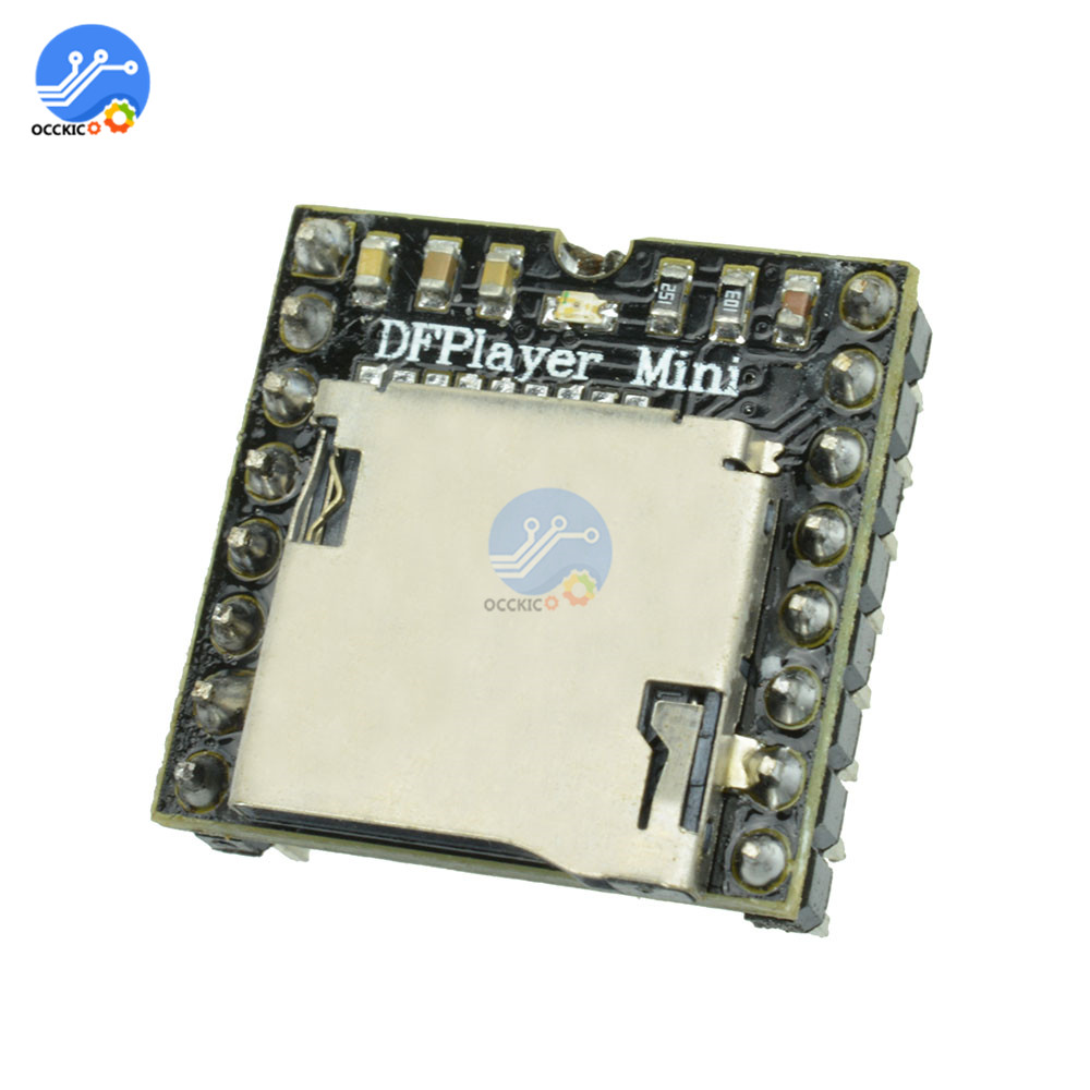 MP3 DF Player Module DIY Kit Audio Sound Speaker Decoding Board For Arduino Supporting TF Card U-Disk IO/Serial Port/AD