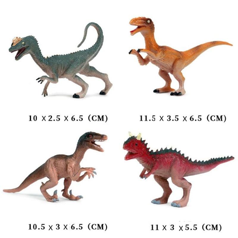 Simulated Pterosaur Archaeopteryx Dinosaur Toys Animal Collectible Model Set