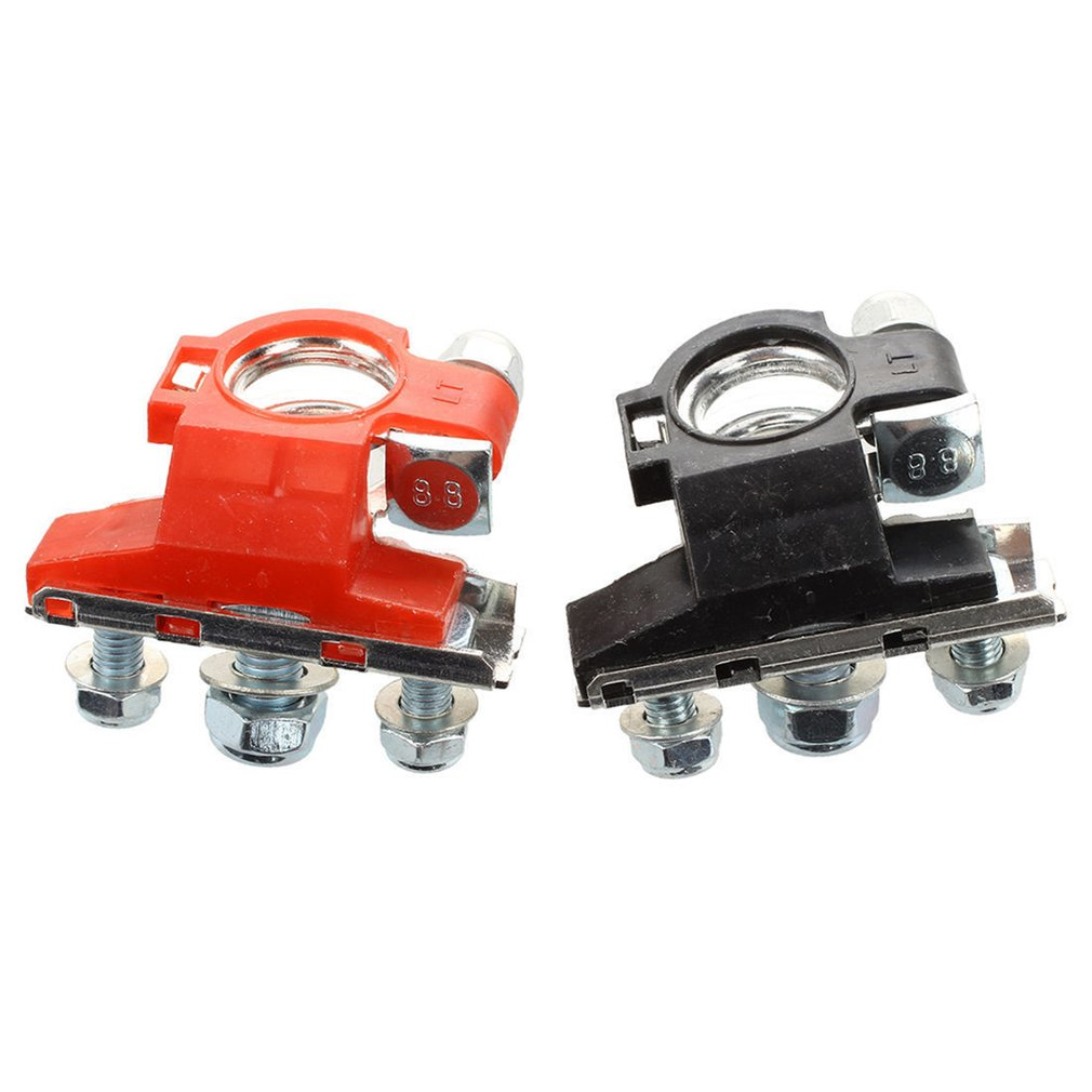 2pc 12V Leisure Battery Terminals Connectors Clamps Car Van Caravan Motorhom t