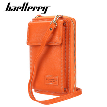 Baellerry 2020 Fahion Top Quality Leather Small Square Bag Casual Women Phone Womens Wallets and Purses Shoulder Bags