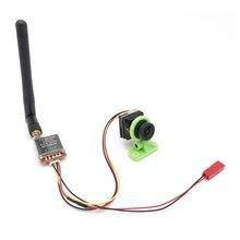 "Transmisor de vídeo TS5828S 200MW/600MW 5,8G 40Ch FPV y 1/3 ""CMOS 1500TVL Mini cámara FPV 2,1mm lente con OSD para Dron de coche RC"