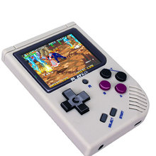 Ретро портативная игровая консоль 2,4 дюймовый IPS экран встроенные 1000 игр сохранение/загрузка прогресса работы внешняя карта MicroSD