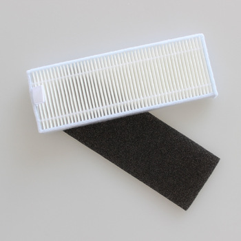 Check size for Conga 1090 sweeper accessories HEPA filter core Haipa filter screen size 119*43mm image