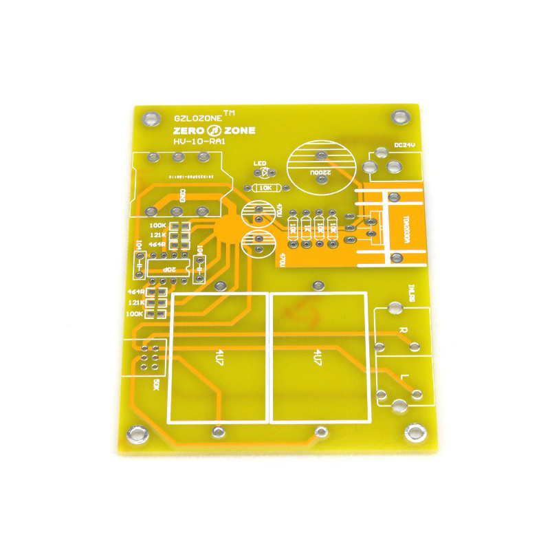 B22 mono headphone amplifier DIY PCB base on beta 22 circuit