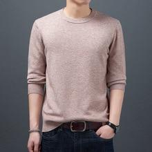 vosod Мужские свитера 2020 Осень Зима мода повседневная slim fit хлопка вязаный мужские пуловеры одежда из трикотажа