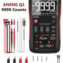 Digital Multimeter Testers Capacitor Transistor 9999 True Rms DIY Professional Aneng Q1