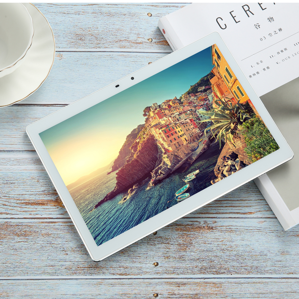 Hot Sale 2020 New 10 inch 3G/4G <font><b>Tablet</b></font> PC Android 8.0 3GB RAM 64GB ROM WiFi GPS <font><b>10.1</b></font> IPS 1920*1200 +Gifts image