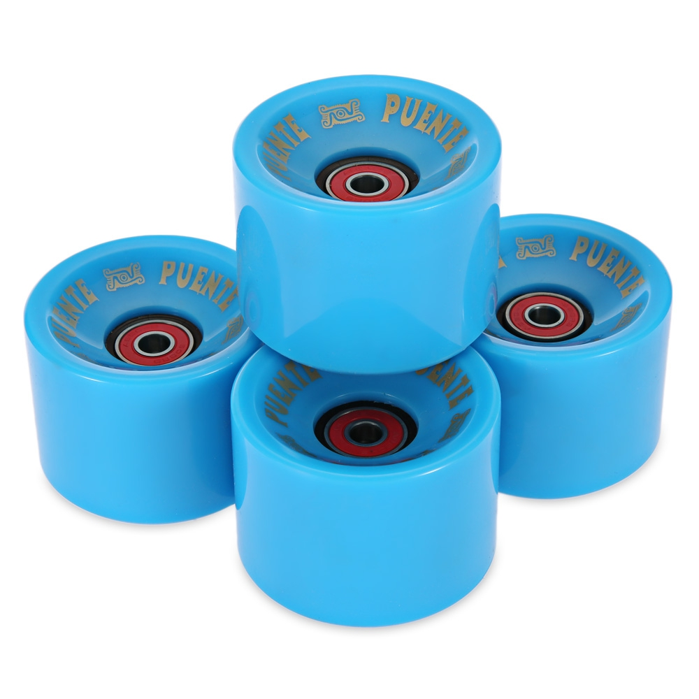 4pcs 70 X 51MM Longboard Wheel Skate Roller With Bearing