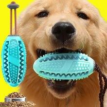 Populaire Rubber Kong Hond Speelgoed Voor Franse Bulldog Hond Tanden Borstel Hond Chew Ball Interactieve Huisdier Speelgoed Labrador Tanden Reinigen gereedschap