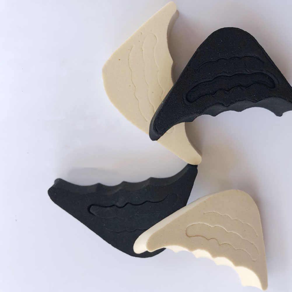 1 çift ön ayak yetişkin bezi kadınlar için yüksek topuklu ayak fişi yarım sünger ayakkabı yastık ayak dolgu tabanlık Anti-ağrı pedleri