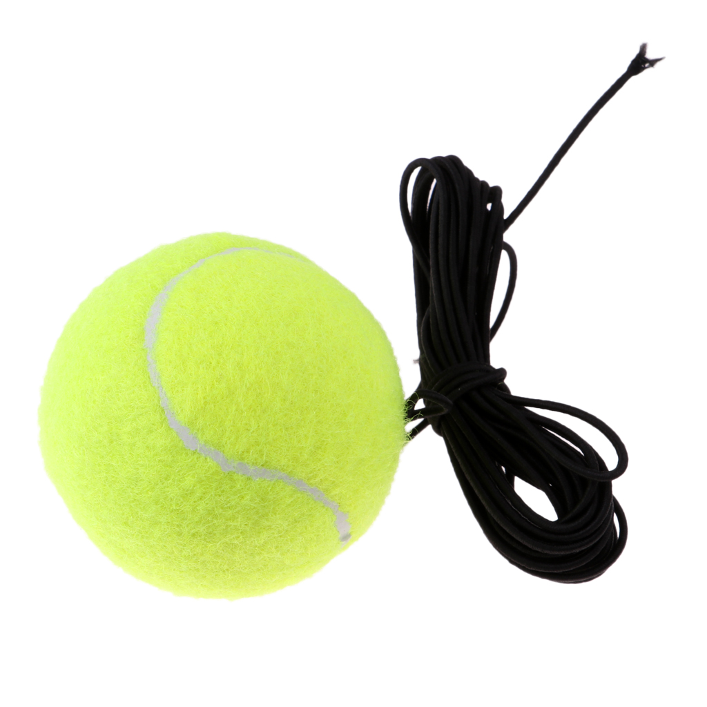 Pack Of 2 Tennis Training Practice Ball On String Rope Trainer Replacement
