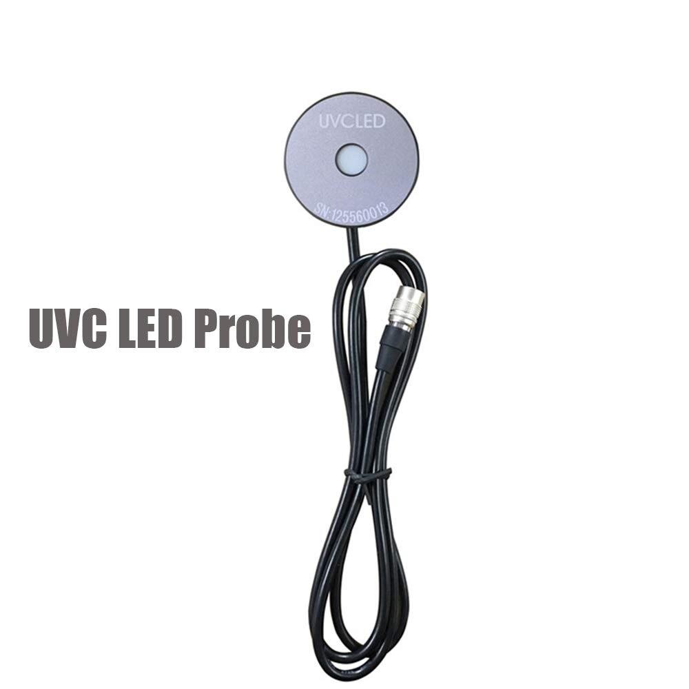Sonda Sensor UVCLED 200nm-400nm ¢ 10mm para a Intensidade e Teste do Medidor de energia do 220nm-320nm para LS125 UV Intensidade de Irradiância