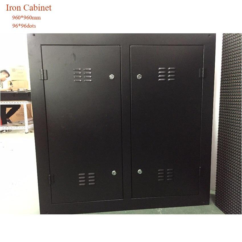Stadium LED Display Pantalla Panel 96*96dots 960*960mm Iron Cabinet Rental P10 DIP346 Outdoor LED Billboard Screen