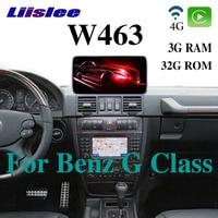 Liislee Car Multimedia Player NAVI CarPlay Adapter For Mercedes Benz MB Puch G Class W463 G63 1997~2012 Car Radio GPS Navigation