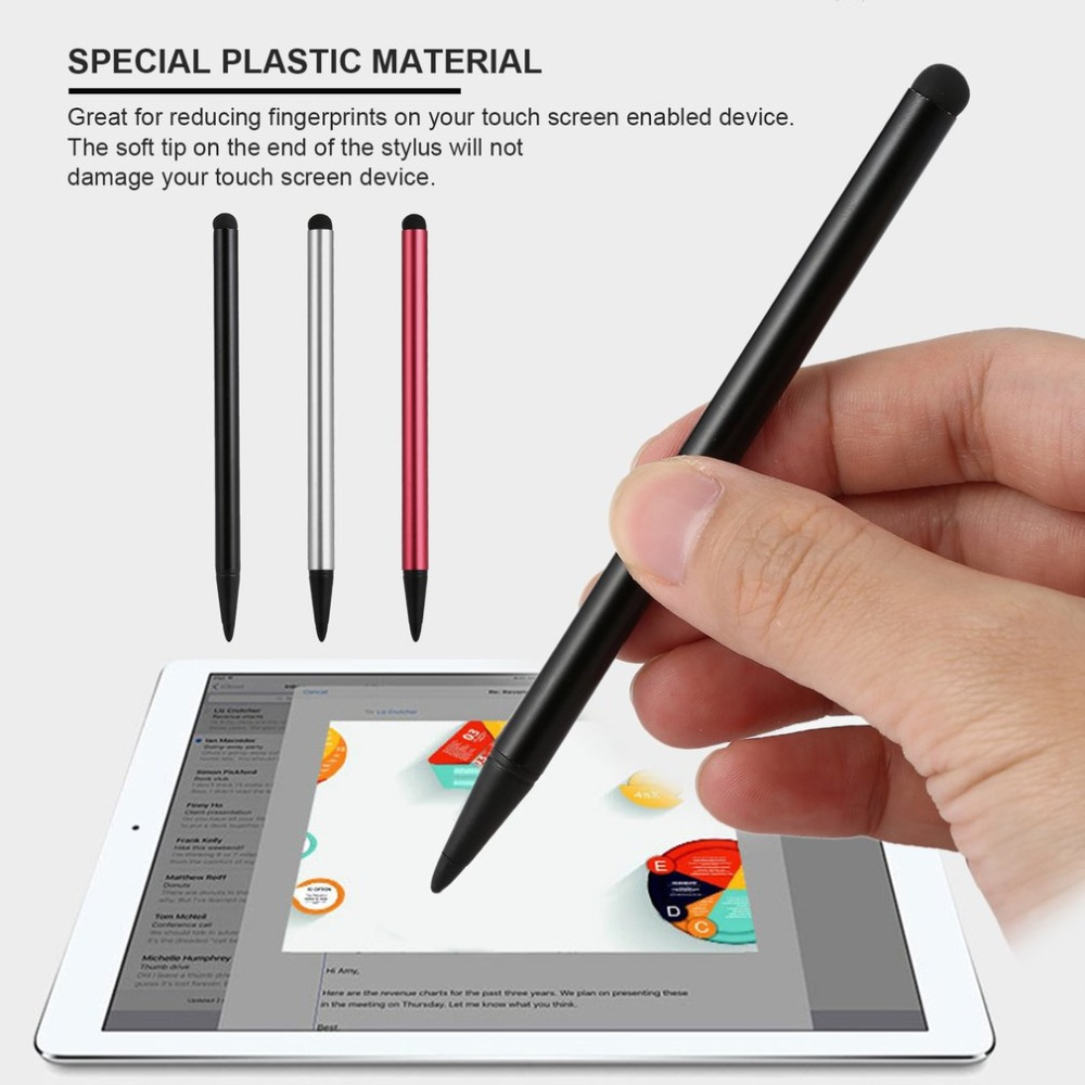 1PC Resistive Hard Tip Stylus Pen For Resistance Touch Screen Game Player For Universal Tablet Smart Phone