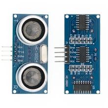 Ультразвуковой Модуль HC-SR04 датчик расстояния датчик для arduino ультразвуковой волновой детектор Начиная модуль