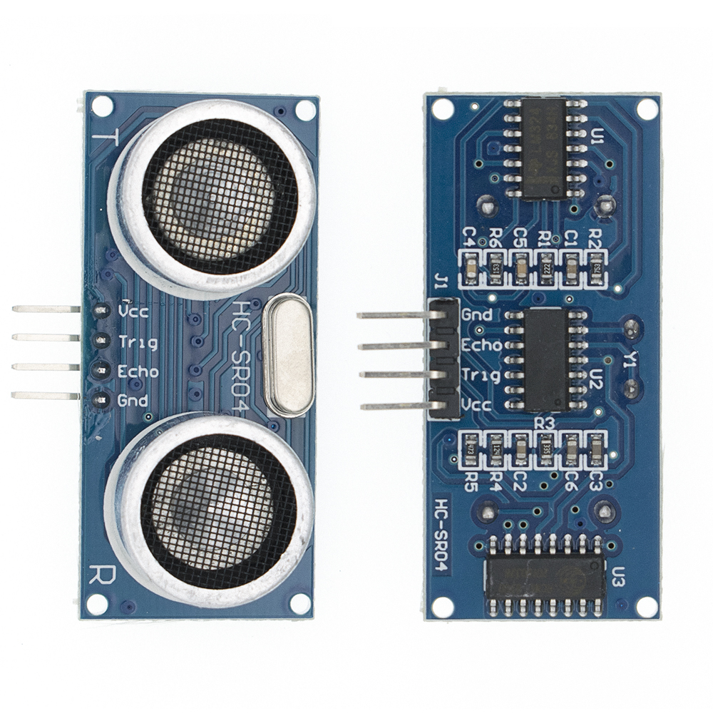 Ultrasonic Module <font><b>HC</b></font>-<font><b>SR04</b></font> Distance Measuring Transducer <font><b>Sensor</b></font> for arduino Ultrasonic Wave Detector Ranging Module image