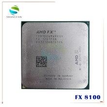 AMD procesador de CPU serie FX, FX 8100, 8100 GHz, ocho núcleos, FX8100, FD8100WMW8KGU, Socket AM3 +