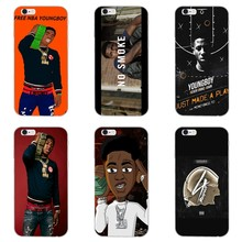 Youngboy Nooit Brak Weer Accessoires Telefoon Case Voor Iphone 11 Pro Xs Max Xr X 8 7 6 6S plus 5 5S Se 4 S 4 Ipod Touch(China)