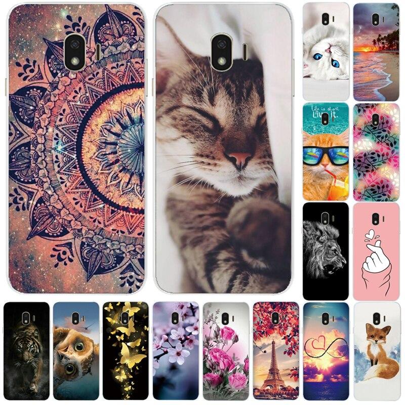 Case For Samsung Galaxy J4 2018 sm-j400f TPU Soft Silicone Cute Back Cover Phone Case For Samsung Galaxy J4 Plus J415