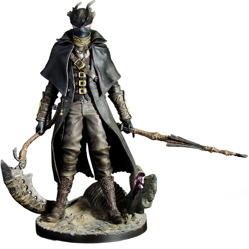 11-30cm Bloodborne Hunter PVC Action Figure Toys Anime Game Bloodborne The Old Hunter Figure Collectible Model Toys Kid Gift