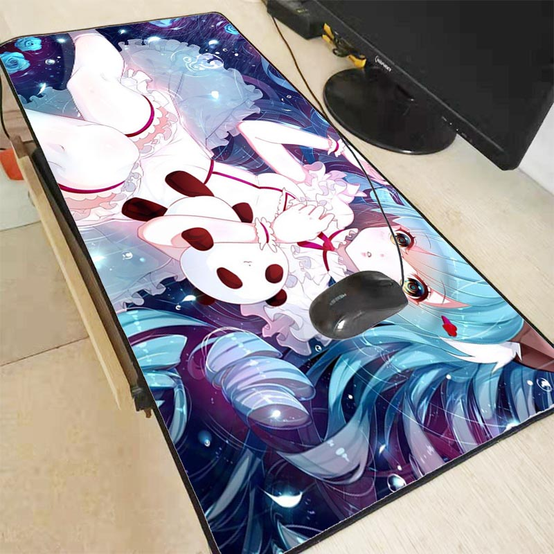 Mairuige Sexy Anime Large Gaming Mouse Pad Lockedge Mouse Mat Keyboard Mat Table Mat Desk Mat For Notebook Laptop Gamer Mousepad