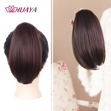 HUAYA Short Ponytail Wig Claw Clip Hair Extentions Ponytail