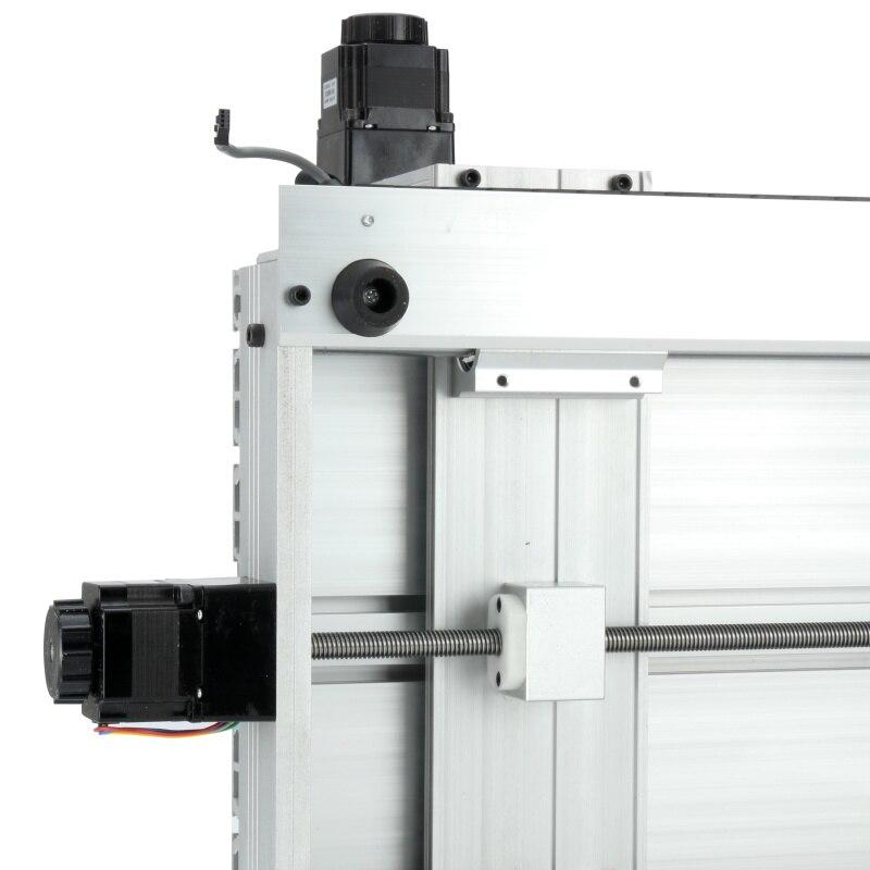CNC 3040 T-D Maschine Drei-achse 300W/800W Themen Schraube CNC Router Stecher 3 achse Gravur fräsen Bohren Schneiden Maschine
