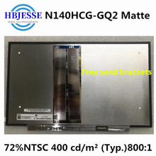 Originele 14 ''Matte Scherm Display Matrix Exacte Model N140HCG-GQ2 Rev.C1 Ips 72% Ntsc Fhd 1920X1080 30 Pins
