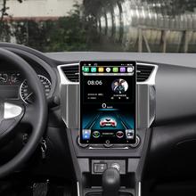 Elektryczna obrotowa wielkoformatowa Android 9 Multimedia dla nissana Sentra Sylphy GPS samochód z nawigacją wieża Stereo HDMI głowica wideo tanie tanio NAVIRIDER Jeden Din 10 1 4*50Watt Other Jpeg iron and plastic 1024*600 HD resolution 4 5kg Bluetooth Wbudowany gps Odtwarzacze mp3