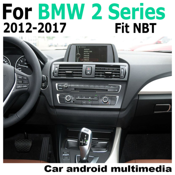 Car Android Touch HD Screen Multimedia Player Stereo Display navigation GPS For BMW 2 Series F22 F23 2012-2017 NBT Audio Radio