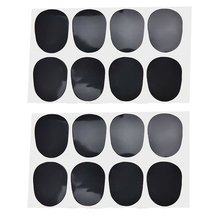 цена на 40 Pcs Sax Mouthpiece Cushions, 0.8 mm Tenor/Alto Clarinet & Saxophone Mouthpiece Patches Pads