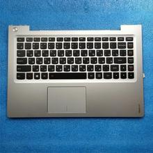 цена на New RU laptop keyboard For Lenovo U330p U330 U330T Russian keyboard with silver case Palmrest Touchpad