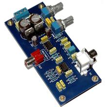 цена на Bass Preamp Low Pass Volume Controlled Preamplifier Board for NE5532 Subwoofer YJ0030