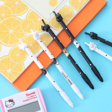 Creative Student Stationery Kitten Style Gel Pen Long Tail Cat Signature Prize Gift Wholesale