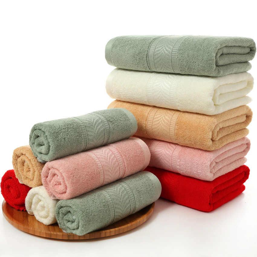 100 Bamboe Handdoeken Zacht Gezicht Badhanddoek Set Dikke Effen Kleur Visgraat Patroon Bamboevezel Badkamer Handdoeken Voor Volwassenen Bath Towels Aliexpress