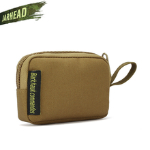 Outdoor Square coin purse Headset Bag Small MOLLE Small Accessory pocket Key Case For