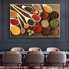 Herbs and Spices in Cooking Canvas Art Posters And Prints Kitchen Theme Canvas Paintings On The Wall Art Pictures Cuadros Decor kitchen theme wall poster and prints various seasonings canvas art paintings on the wall canvas art pictures cuadros decoration