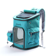 Dog Bag Breathable Backpack Large Capacity Folding Shoulder Cat Travel Pet M
