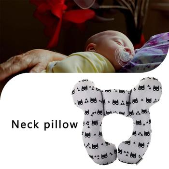 Baby U-shaped Pillow Soft Nursing Pillow Neck Support Baby Car Seat Stroller Baby Head Body Cushion Infant Pillow image