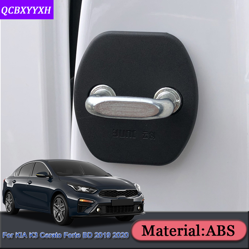 Car Styling Car Door Check Arm Protection Cover Car Door Lock Protective Cover Accessories For Kia K3 Cerato Forte BD 2019 2020